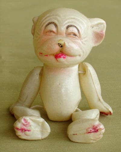 1930's VINTAGE CELLULOID BONZO DOG CHARACTER