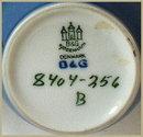 BING & GRONDAHL FLORAL VASE PR-82