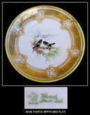 BEAUTIFUL H.P. NIPPON BIRDS PLATE PR106