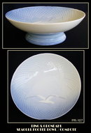 SCARCE BING & GRONDAHL FOOTED SEAGULL BOWL /