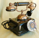 ANTIQUE ROTARY TELEPHONE MS43