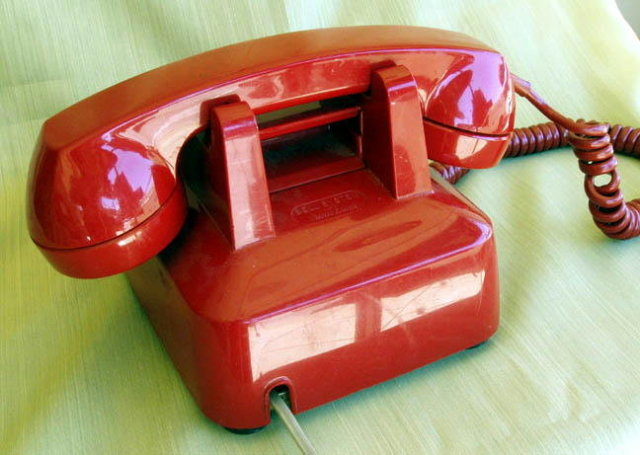 RED HOT LINE ROTARY TELEPHONE MS131