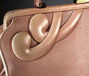 VINTAGE 1950's LEATHER / LIZARD PURSE MS130