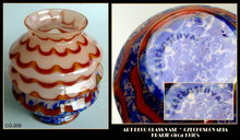 CZECH ART DECO GLASS VASE KRALIK c.1920-30 CG208