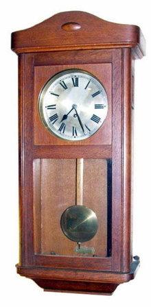 GERMAN WALL CLOCK Mathias Bauerle c. 1924-30
