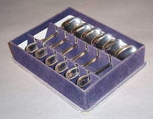 SET OF 6 MIB VINTAGE SILVER SPOONS SL48