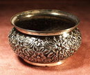 RARE GORHAM STERLING SILVER OPEN SALT CELLAR 1890