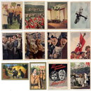 SET OF 12 GERMAN CIGARETTE CARDS c. 1930's P111
