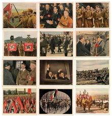 SET OF 12 GERMAN CIGARETTE CARDS c. 1930's P114