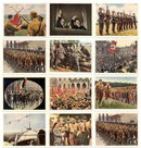 SET OF 12 GERMAN CIGARETTE CARDS c. 1930's P115