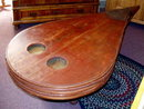 OLD FARM BELLOW COFFEE TABLE c.1900