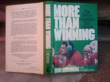 TOM OSBORNE MORE THAN WINNING NEBRASKA CORNHUSKER FOOTBALL COACH STORY BOOK COLLEGE FOOTBALL ATHLETIC PUBLICATION