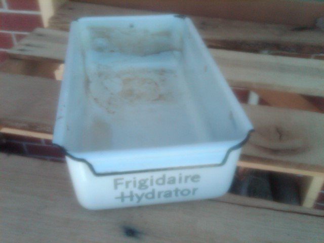 Frigidaire Hydrator White Porcelain Refrigerator Drawer Freezer Box