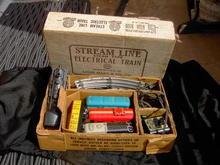 MARX ELECTRIC TRAIN LOCOMOTIVE ORIGINAL BOX