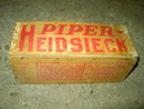 PIPER HEIDSIECK TOBACCO BOX DOVETAIL CRATE CHAMPAGNE FLAVOR