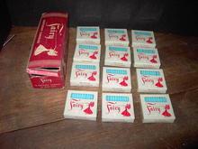 PEPPERMINT SCENTED BIRTHDAY CAKE DECORATOR CANDLES FAIRY BRAND CANDLE-LITE CINCINNATI OHIO ORIGINAL BOX