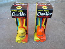 CHUCKLER HAPPY FACE PENHOLDER PENCIL STAND ORIGINAL PACKAGE