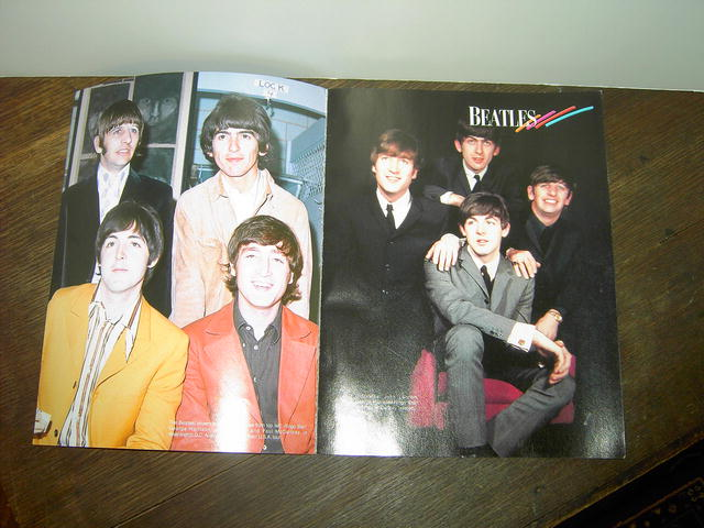 Beatles collector magazine 1996 rock roll publication collectible music memorabilia