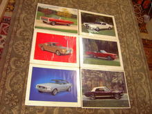 FORD MUSTANG CAR POSTER