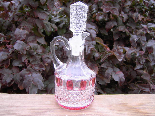 MULBERRY CRUET PITCHER VINEGAR OIL DISPENSER