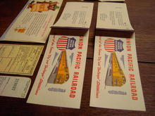 UNION PACIFIC TRAIN TICKET RAILROAD PASS