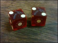 CRYSTAL BAY CLUB LAKE TAHOE NEVADA DICE CASINO GAMBLING HALL SOUVENIR