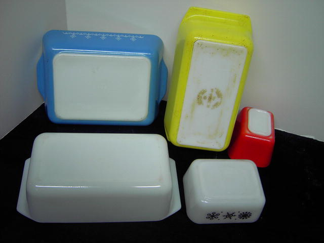 PYREX REFRIGERATOR DISH BAKING BOWL FOOD STORAGE CONTAINER