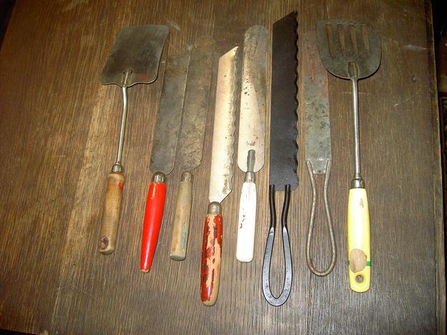 BAKERY KNIFE SPATULA KITCHEN UTENSILS