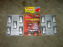 NASCAR JIGGLER JELLO MOLD STERLING MARLIN CHASE THE RACE COLLECTOR CAR