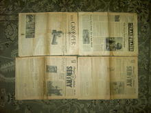 SENTRY GROOPER TRAILBLAZER WORLD WAR TWO NEWSPAPERS