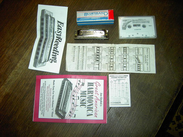 HOHNER HARMONICA INSTRUMENT INSTRUCTION TAPE DIRECTIONS