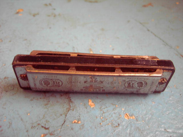 GERMAN HARMONICA MUSICAL INSTRUMENT  KOSTLER  TRADE MARK U S ZONE