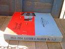 1954 WALLPAPER SELECTION BOOK AUERS PAINT STORE STROUDSBURG PENNSYLVANIA KAYSER & ALLMAN NEW YORK PHILADELPHIA