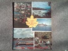 KENORA ONTARIO CANADA LAKE OF WOODS TOURIST BOOKLET TRAVEL GUIDE