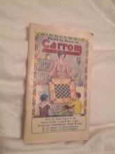 Game Rules For Carrom Board Star Archarena Combination Type Ludington Michigan 1901Rule Booklet Crokinole Tenpins Cocked Hat & Feather Seven Up Five Back