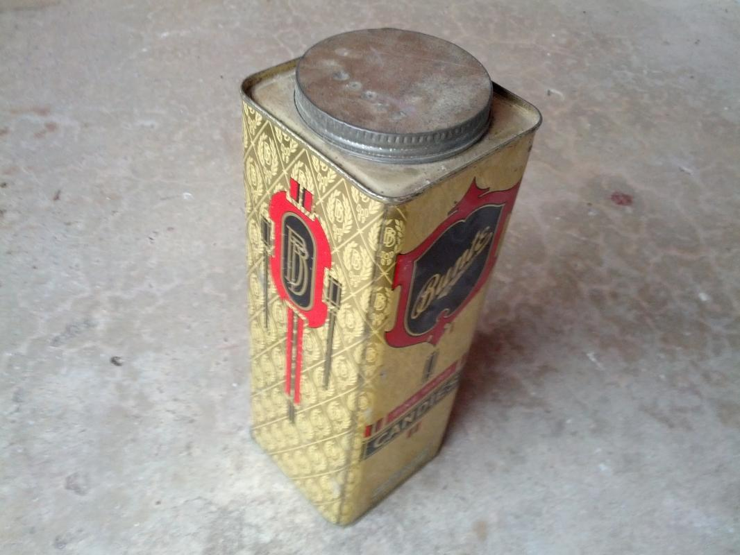 bunte brothers chicago illinois fine hard candy can tin cannister