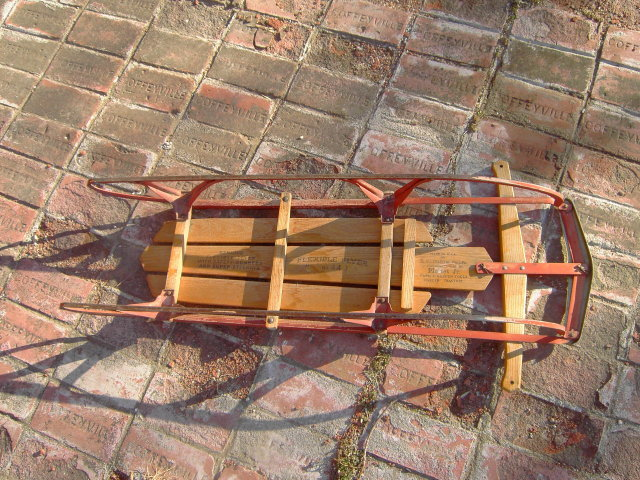 FLEXIBLE FLYER SLED S L ALLEN COMPANY PHILADELPHIA PENNSYLVANIA