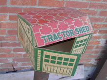 LOUIS MARX TRACTOR SHED BOX NEW YORK ASHTABULA OHIO