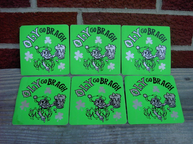 OLYMPIA WASHINGTON IRISH SAINT PATRICKS DAY BEER STICKER DECALS