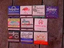 LAS VEGAS NEVADA CASINO GAMBLING MATCH BOOKS