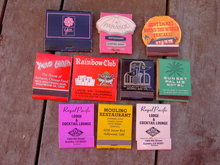 CALIFORNIA RESTAURANT BAR LOUNGE MOTEL MATCH BOOKS
