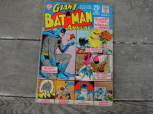 GIANT BATMAN  ROBIN THE BOY WONDER DC SUPERMAN NATIONAL COMIC BOOK