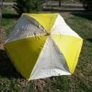 PORCH UMBRELLA RETRO ERA BAR DECORATION SUN SHADE