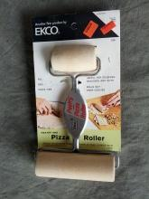 pastry pasta pizza dough roller food preparation utensil kitchen baking tool usa made franklin park illinois advertising card