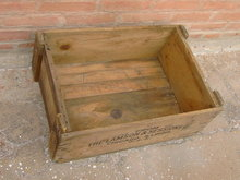 WOODEN SHIPPING BOX CRATE LAMSON SESSIONS CHICAGO ILLINOIS OMAHA NEBRASKA