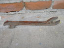 ROCK ISLAND RAILROAD TRAIN WRENCH TOOL BOX END TYPE