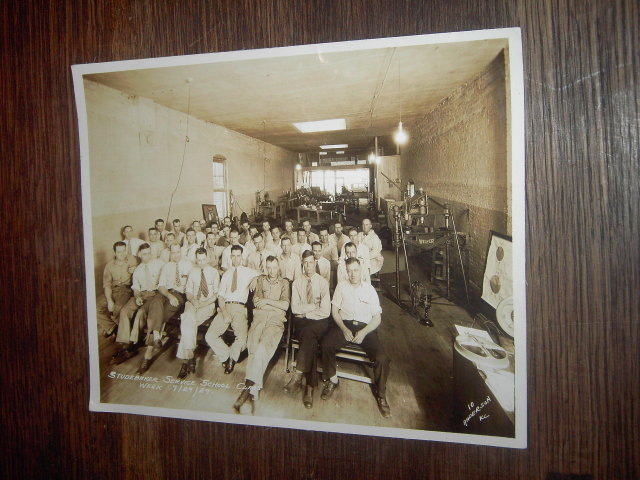 STUDEBAKER FACTORY SERVICE SCHOOL CLASS PHOTO 1929
