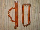 LUCITE HANDBAG PURSE FRAME HANDLE