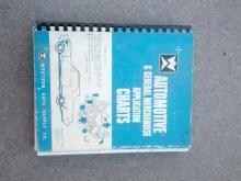 westrrn auto supply automotive catalog general merchandise application chart book 1964 car part booklet
