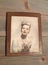 virginia mayo movie star actress print paper wall decoration